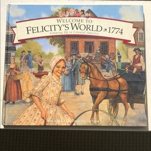 Other - American Girl Felicity Hardcover Book